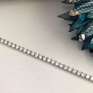 Jewelry - 925 Silver & CZ Tennis Bracelet